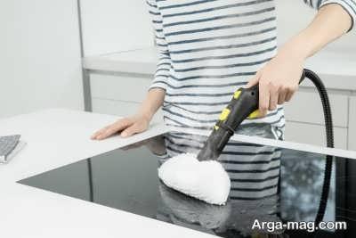 بخارشوی برای نظافت فر و گاز