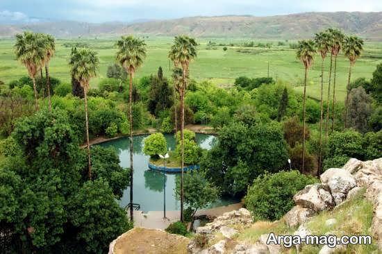 آشنایی با باغ چشمه بلقیس