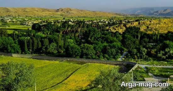 معرفی باغ چشمه بلقیس در کهگیلویه و بویر احمد