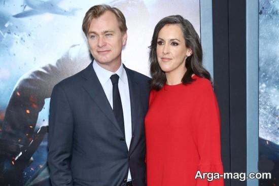بیوگرافی کریستوفر نولان و همسرش