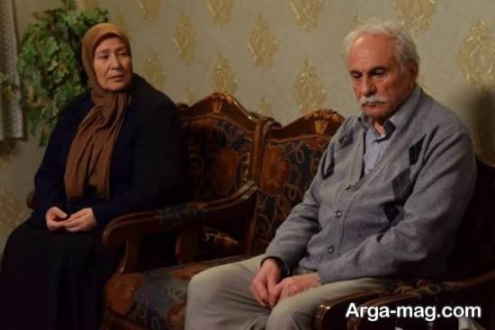 بیوگرافی ایرج راد و همسرش