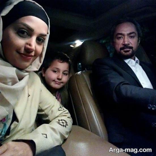 زندگینامه محمد حاتمی و همسرش