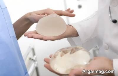نکات مرتبط با نوع جنس پروتز های سینه
