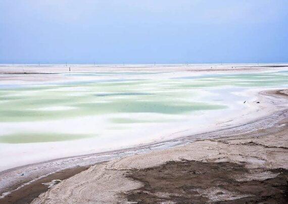 دریاچه نمکی CHAKA در کشور چین