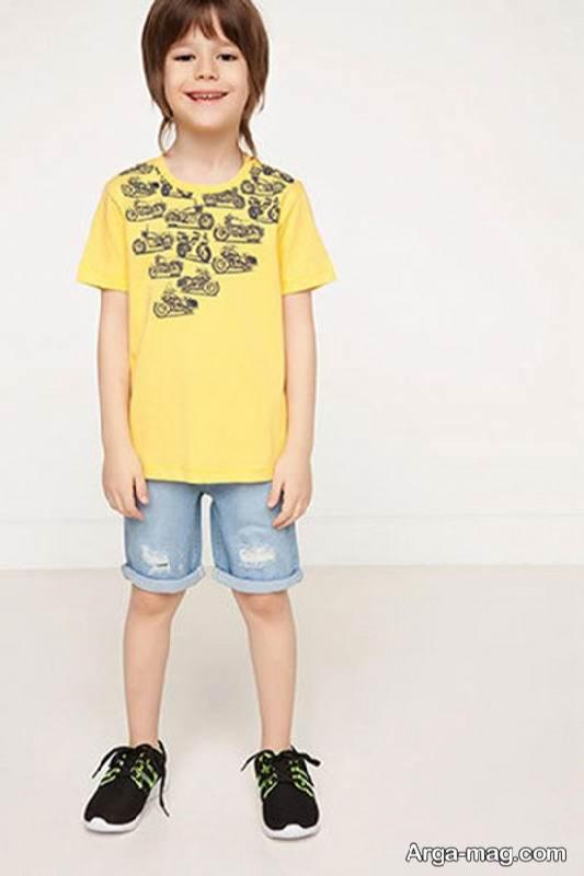 انواع جالب مدل تیشرت بچه گانه دخترانه