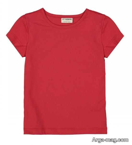 انواع متفاوت مدل تیشرت بچه گانه دخترانه