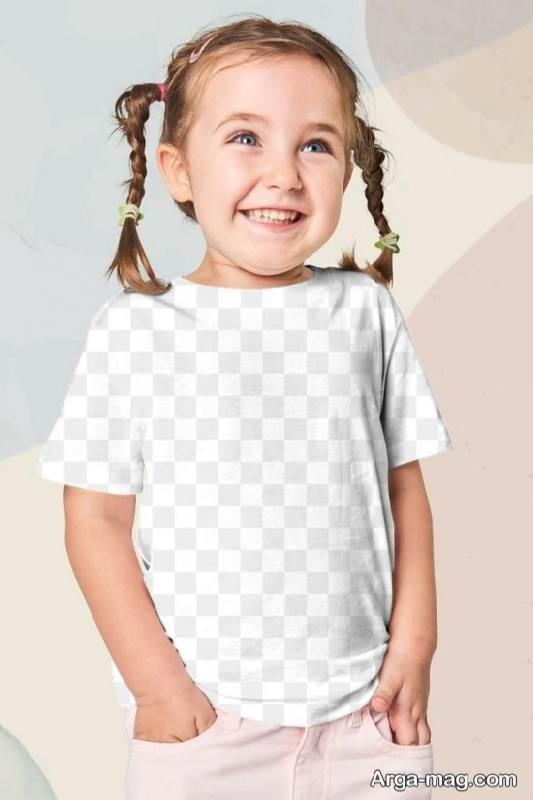 نمونه لباس آستین کوتاه ساده و زیبا