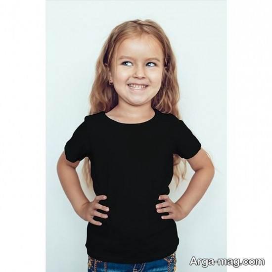 مجموعه جدید مدل تیشرت بچه گانه دخترانه