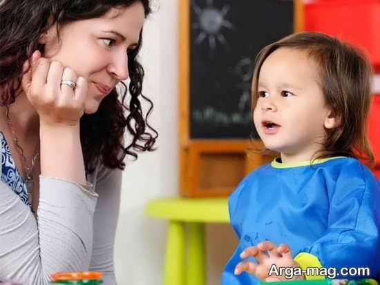 برخورد مناسب با پرحرفی کودکان