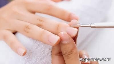 برداشتن ژلیش از روی ناخن ها با روشی ساده