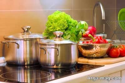مراحل شستشوی ظروف استیل