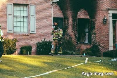 روش های پاکسازی خانه پس از آتش سوزی