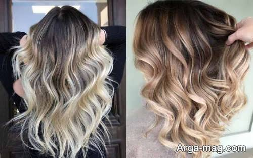 رنگ موی کالر ملتینگ