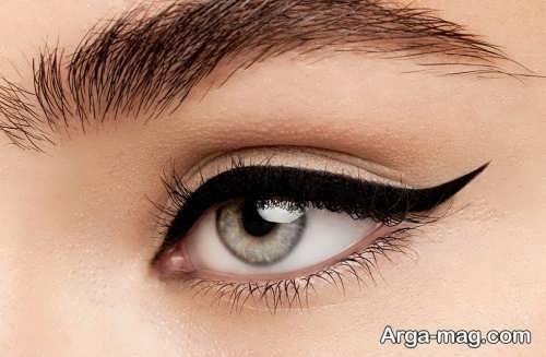 خط چشم دنباله دار