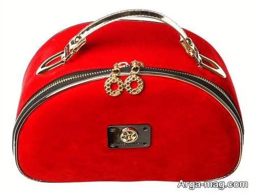 مدل کیف لوازم آرایش قرمز
