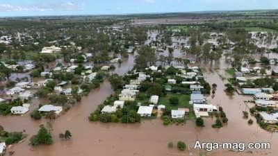 عوامل موثر در بروز سیلاب
