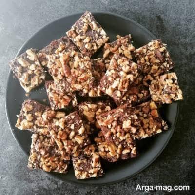 روش تهیه شکلات گردویی در منزل