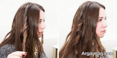فر کردن مو با روش هایی ساده