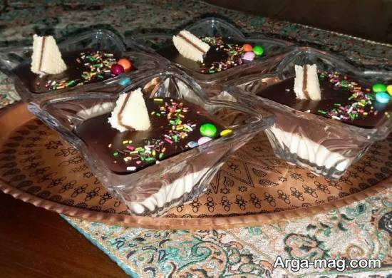 ایده های زیبا و جذابی از تزیین دسر شکلاتی