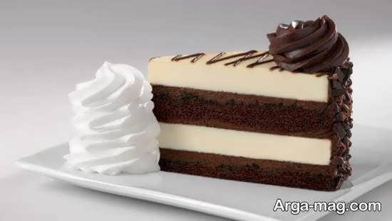 ایده هایی زیبا از تزیین دسر شکلاتی