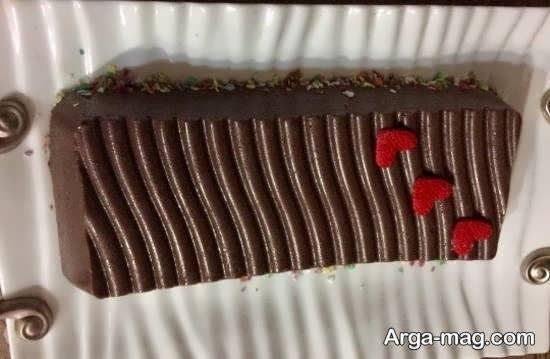 انواع نمونه های بینظیر تزیین دسر شکلاتی