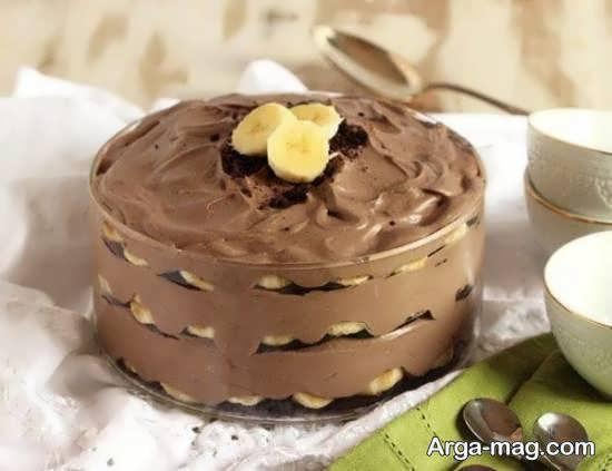 انواع طرح های دوست داشتنی دسر شکلاتی