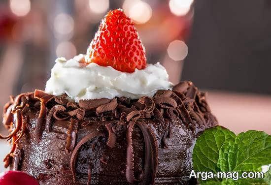 ایده هایی بینظیر از طراحی و زیباسازی دسر شکلاتی