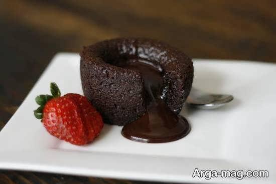 ایده هایی ایده آل از دیزاین دسر شکلاتی
