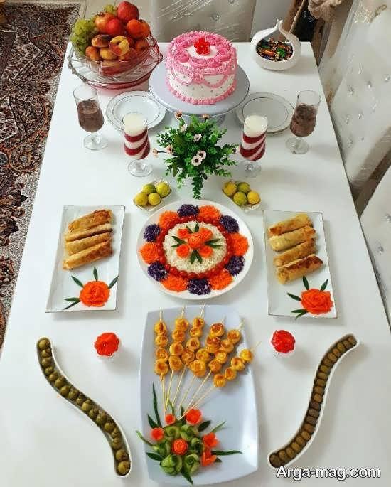 انواع نمونه های ایده آل تزیین میز عصرانه