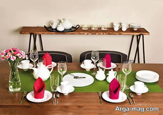 ایده های تزیینات میز عصرانه