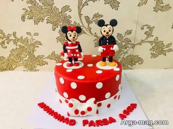 انواع ایده های طراحی و زیباسازی برای کیک تولد دوقلوها