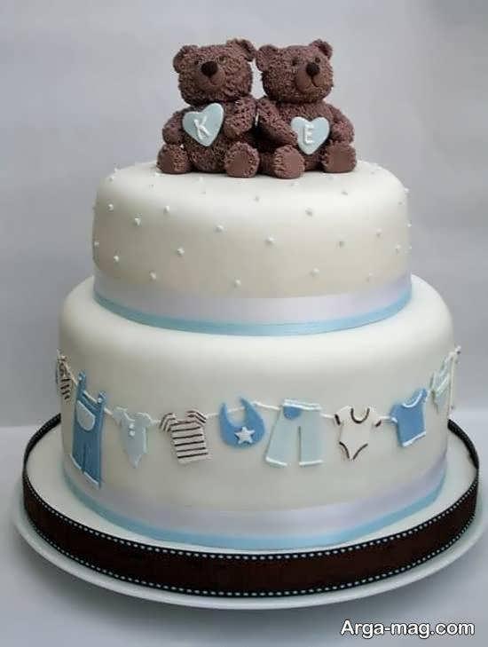 ایده های بینظیر کیک تولد دوقلوها