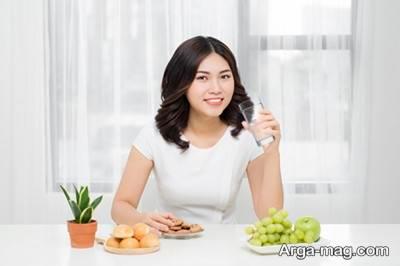 کاهش اشتها با آب خوردن در بین غذا