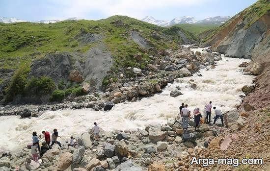 معرفی آبشار زیبای سوله دوکل