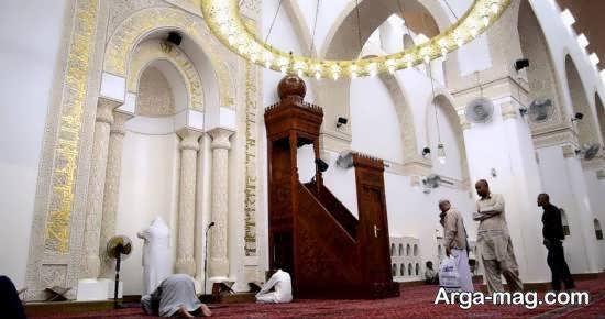 مسجد ذوقبلتین واقع در مدینه
