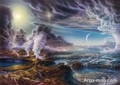 نحوه پیدایش حیات کره زمین