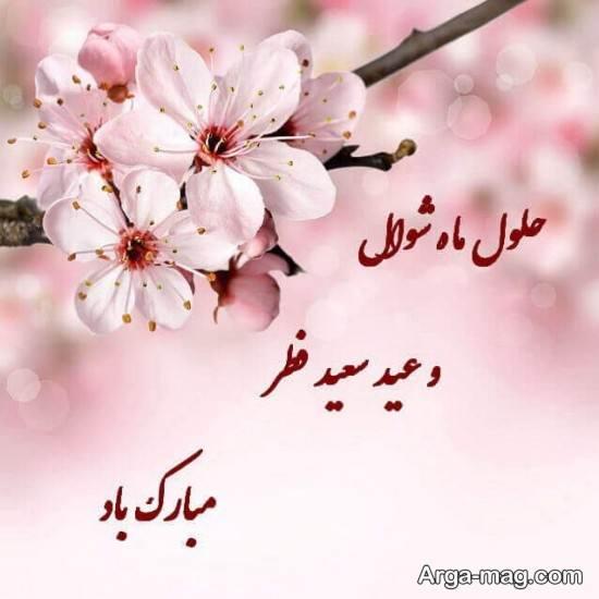 انواع عکس نوشته جالب تبریک عید فطر