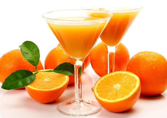رفع تلخی آب پرتقال