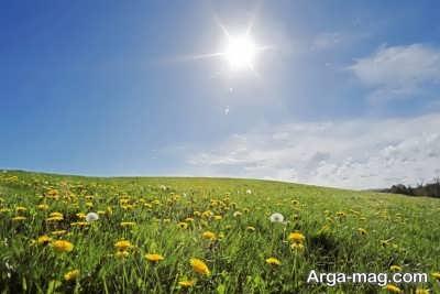 انشا زیبا و جالب درباره تابستان