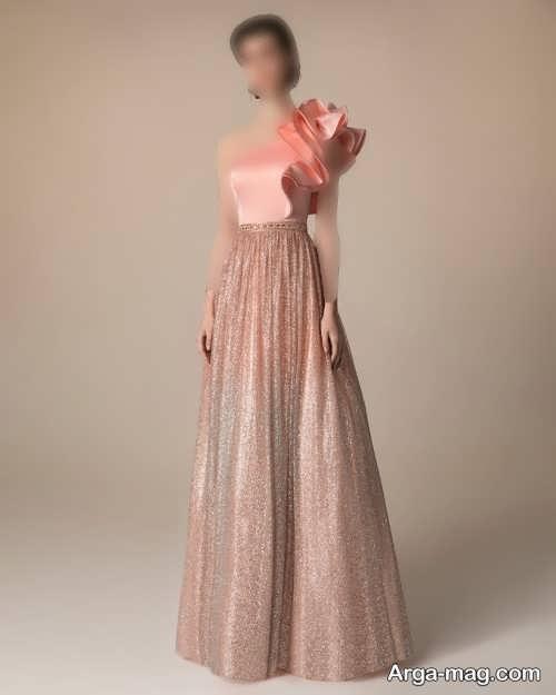 مدل لباس شب رنگی 1400