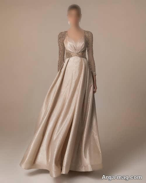 مدل لباس شب شیک و بلند