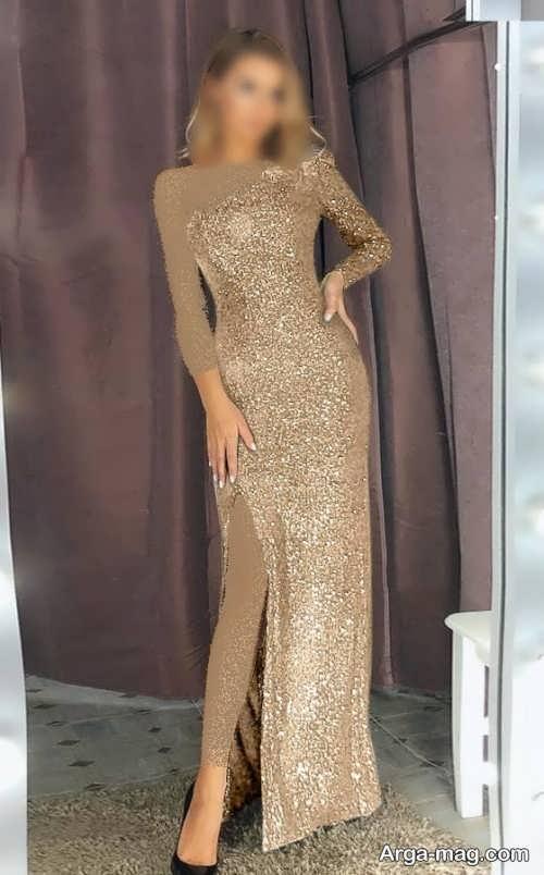 مدل لباس شب 1400 بلند
