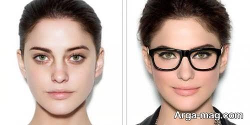 مدل های آرایش برای زیر عینک