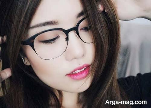 مدل میکاپ مخصوص خانم های عینکی