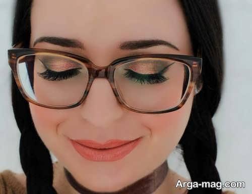 مدل های آرایش مخصوص زیر عینک