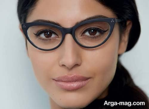 آرایش چشم برای زیر عینک
