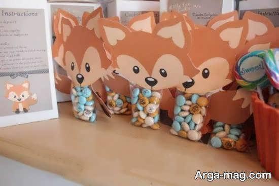 ایده هایی زیبا و خارق العاده از تم زادروز روباه