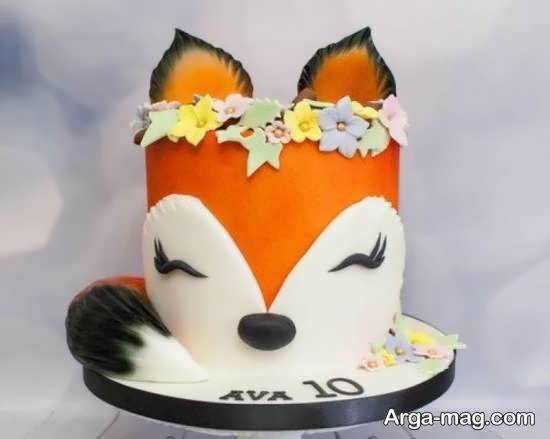 ایده هایی متنوع از طرح تولد روباه