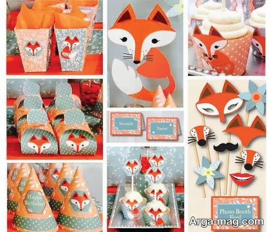 ایده هایی متفاوت و منحصر به فرد از طرح تولد روباه