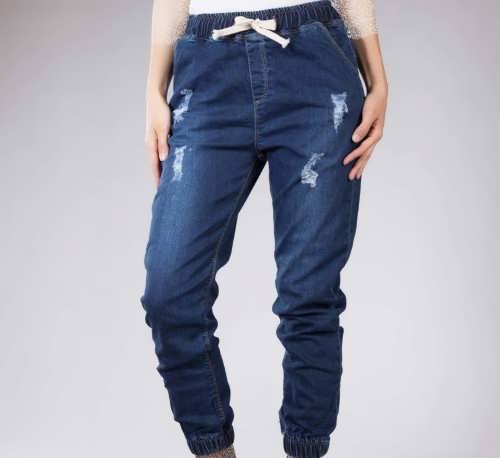 شلوار جین گت دار